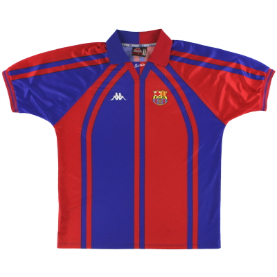 1997-98 Barcelona Kappa European Home Shirt XL