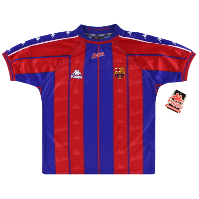 1997-98 Barcelona Kappa Home Shirt *w/tags* XL