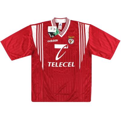 1997-98 Benfica adidas Basic Home Shirt Joao Pinto #8 *w/tags* L