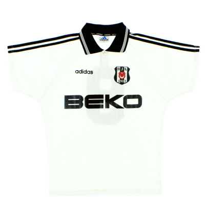 1997-98 Besiktas Match Issue Home Shirt #9 L