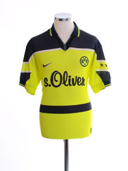 1997-98 Borussia Dortmund Home Shirt XL.Boys