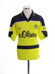 1997-98 Borussia Dortmund Home Shirt M