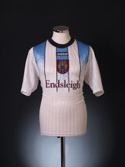 1997-98 Burnley Away Shirt M