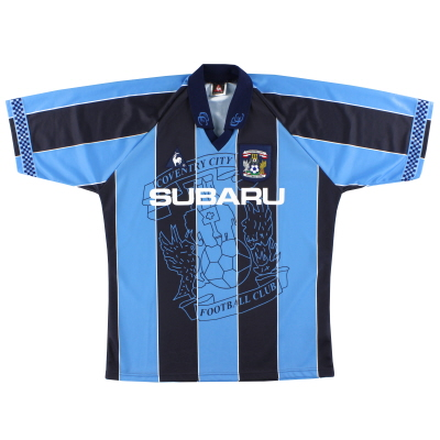 1997-98 Coventry Le Coq Sportif Home Shirt M