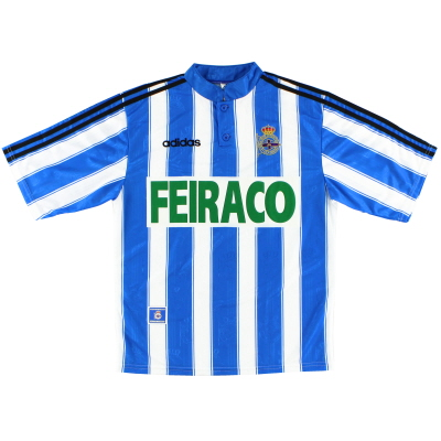 1997-98 Deportivo Home Shirt XL