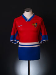1997-98 FC Basel Home Shirt *Mint* XL