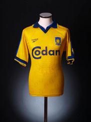 1997-98 FC Brondby Home Shirt S