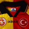 1997-98 Galatasaray Home Shirt #9 (Sukur) L/S XL