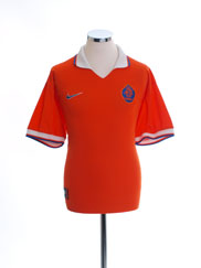 1997-98 Holland Home Shirt *Mint* L