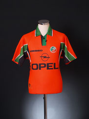 1997-98 Ireland Away Shirt Y