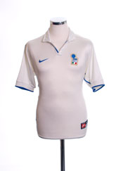 1997-98 Italy Away Shirt M