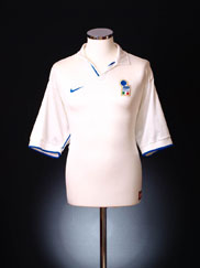 1997-98 Italy Away Shirt XL.Boys