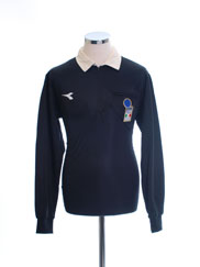 1997-98 Italy FIGC Referee Shirt M