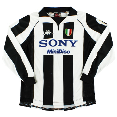1997-98 Juventus Centenary Home Shirt L/S L