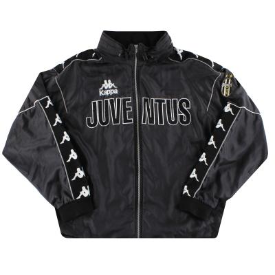 1997-98 Juventus Kappa Hodded Bench Coat L
