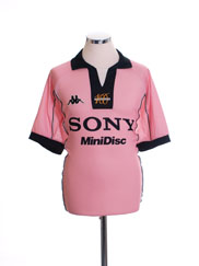 1997-98 Juventus Pink Centenary Away Shirt *Mint* L