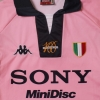 1997-98 Juventus Pink Centenary Away Shirt XL