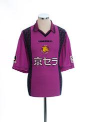 1997-98 Kyoto Purple Sanga Home Shirt *Mint* XL