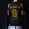 1997-98 Leipzig II Match Issue Third Shirt Franklin #9 L/S