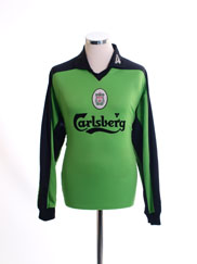 1997-98 Liverpool Goalkeeper Shirt L