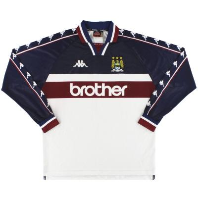 1997-98 Manchester City Kappa Away Shirt L/S XL
