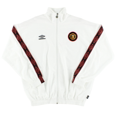 1997-98 Manchester United Umbro Track Jacket XL