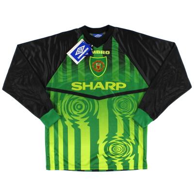 1997-98 Manchester United Umbro Goalkeeper Shirt *w/tags* M