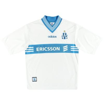 1997-98 Marseille adidas Home Shirt M