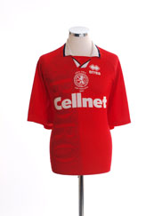 1997 Middlesbrough 'Coca Cola Cup Finalists' Home Shirt XL