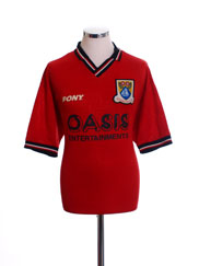 1997-98 Morecambe Home Shirt L