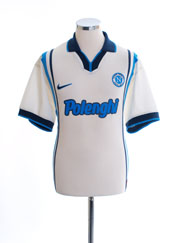 1997-98 Napoli Away Shirt L