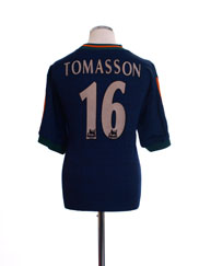 1997-98 Newcastle Away Shirt Tomasson #16 L