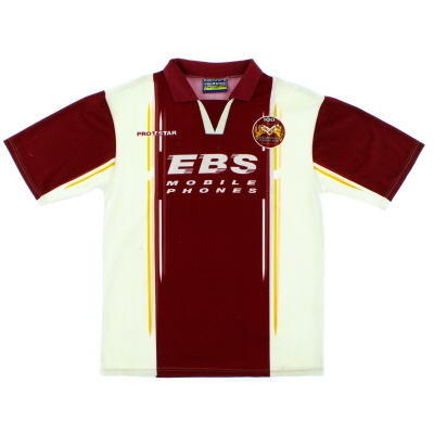 1997-98 Northampton Centenary Home Shirt M