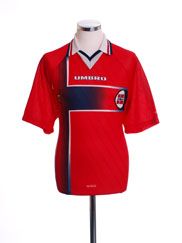 1997-98 Norway Home Shirt L
