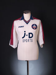 1997-98 Oldham Away Shirt XL