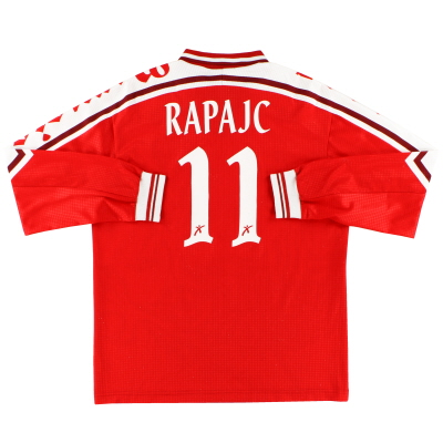 1997-98 Perugia Match Issue Home Shirt Rapajc #11 L/S M