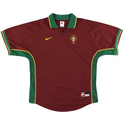 1997-98 Portugal Nike Home Shirt *Mint* L