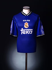 1997-98 Real Madrid Away Shirt *As new* L