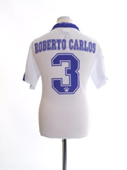 1997-98 Real Madrid Home Shirt Roberto Carlos #3 *BNWT* XS