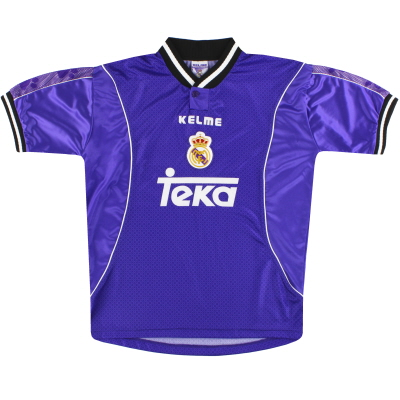 1997-98 Real Madrid Kelme Away Shirt M