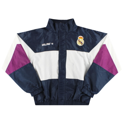 1997-98 Real Madrid Kelme Training Rain Coat M