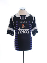 1997-98 Real Madrid Third Shirt M
