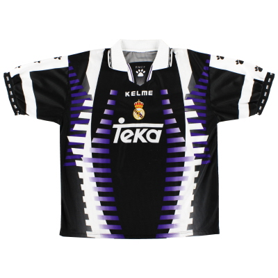 1997-98 Real Madrid Kelme Third Shirt S