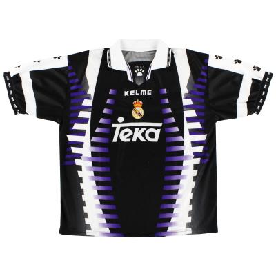 buy online 466b2 89f95 Classic and Retro Real Madrid Football Shirts   Vintage ...