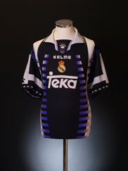 1997-98 Real Madrid Third Shirt XL