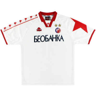 1997-98 Red Star Belgrade Kappa Away Shirt XL