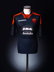 1997-98 Roma Third Shirt XL