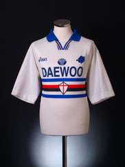 1997-98 Sampdoria Away Shirt XL