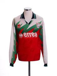 1997-98 Scarborough Away Shirt L/S XL