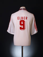 1997-98 Stuttgart Home Shirt Elber #9 XL